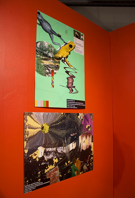 posters from biice's room. originals by biice